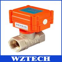 Buy cheap Mini Motorized Valve For Water Treatment, HVAC, Remote Control Intelligent Valve from wholesalers