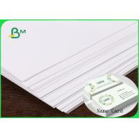Buy cheap FSC & ISO High Thickness Ivory Board Paper C1S White Cardboard 1.35MM 1.5MM For Making Name Card from wholesalers