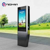 Buy cheap 65 Inch Totem Digital Signage , Lcd Advertising Player Poster Telephone Booth from wholesalers