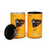 Buy cheap Airtight Tea Packaging Tube Paper Composite Cans Customized Printing from wholesalers