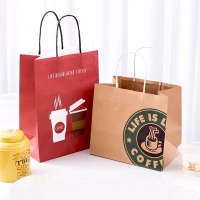 Buy cheap Promotional Printed Kraft Paper Bags from wholesalers