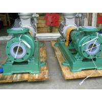 Buy cheap IHF  PTFE lined centrifugal chemical process pump transfer sulfuric acid pump from wholesalers