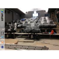 Buy cheap Servo Electronic And 5.1 Audio 6D Cinema Equipment With Dynamic Chairs product