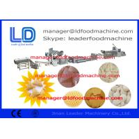 Buy cheap 3D Snack Pellet Machinery , Single Phase 220V Extruded Snacks Cereal Machine from wholesalers