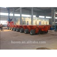 Buy cheap Hydraulic low bed trailer with multi axles to transport large mechanical from wholesalers