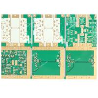 Buy cheap Multilayer Immersion Gold High Frequency PCB Board Thickness 8mm High Density Interconnects from wholesalers
