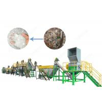 Buy cheap 300 - 1500 Kg/H PET Bottle Plastic Washing Recycling Machine with Stainless Steel High Speed Friction Washing from wholesalers