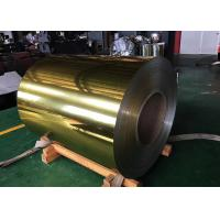 China Pe Pvdf Color Coated Polished Aluminum Sheet Silver Golden For Decoration on sale
