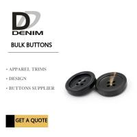 Buy cheap Plastic Resin 4 Hole Plastic Button For Khaki Double - Breasted Trench Coat from wholesalers