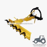 Buy cheap 4HDGBR - Tractor Mounted 3point Grader Blade with Rippers 4Ft - Heavy duty from wholesalers