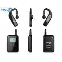 Buy cheap Economic Audio Tour Guide Device With Bluetooth Headset 100 Channels For Trade Shows and VIP Visitors from wholesalers