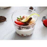Small Dessert  250ml Borosilicate Glass Bowl Food Grade Parfait Dish