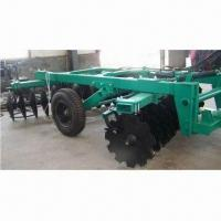 Buy cheap Offset disc harrow for breakup clods/loosening of wasteland, shrub swamp and heavy soil from wholesalers