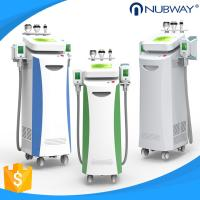 Buy cheap Nubway 5 handles cryolipolysis fat freeze slimming machine  FDA CE approved  80%  salon clinic used product