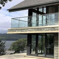 Buy cheap Cheap Price Exterior frameless glass balustrade system with Aluminum U Channel from wholesalers