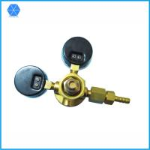Buy cheap Female 0.96''-14 Argon gas welding regulator twin 2 gauge single stage Forged copper CO2/Argon regulator from wholesalers