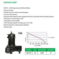 Buy cheap SEWAGE PUMP SBF370 from wholesalers
