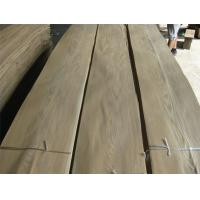 Buy cheap Sliced Natural Brown Ash Wood Veneer Sheet, crown cut from wholesalers