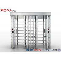 Buy cheap High Speed Full Height Turnstile Mechanism Access Control Dual Passage AC 220V product