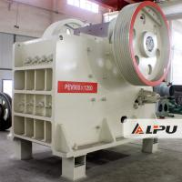 Buy cheap PEV900×1200 Double Toggle Jaw Crusher Stone Crusher Machines 48t from wholesalers