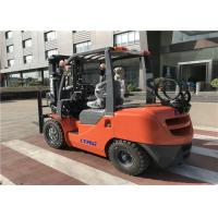 Buy cheap LTMA brand Gasoline Forklift Truck 3 .5 Ton with Cabin / Air - Conditioner from wholesalers