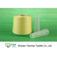Buy cheap 502 Colored Ring Spun Dyed Polyester Yarn , Polyester Twisted Yarn For Knitting / Weaving product
