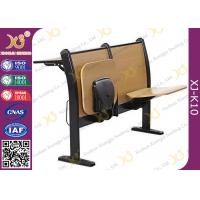 Buy cheap Plywood School Desk And Chair , College Student Desk With Chair For University Lecture Hall from wholesalers