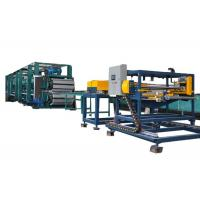 Buy cheap 6m Roll Forming Continuous PU Sandwich Panel Production Line With Low Noise product