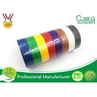 Buy cheap White /  Yellow / Red Crepe Paper Decorative Masking Tape With Rubber Based Gule from wholesalers