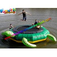 Buy cheap Turtle Jump 15-Foot Water Trampoline, Inflatable Floating Water Toys / Jumping Pad from wholesalers