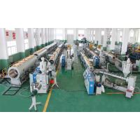 Buy cheap HDPE PE PPR Pipe Extrusion Line , Ppr Pipe Production Line With High Speed from wholesalers