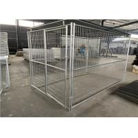 Buy cheap Easily Assembled Dog Cage Gabion Wire Mesh High Tensile Strength 60 * 80mm from wholesalers