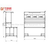 Buy cheap Anti Static Production Industries Workbench ,Black Lean Tube Detection Workbench from wholesalers