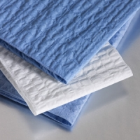 Buy cheap Disposable 4 Layers 65g 40×50cm Blue Surgical Towels from wholesalers