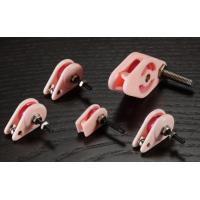 Buy cheap Pink Caged Ceramic Pulley , Precision Coil Winding Tensioner Accessories product