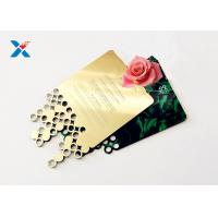 Buy cheap Mirror Acrylic Gifts , Acrylic Invitation Card With Custom Shape For Wedding / Party product