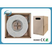 Buy cheap Heavy Duty Ethernet Internet Cable Wire UTP Cat5e Gauge 24AWG 26AWG Pure Copper 1000/500FT from wholesalers