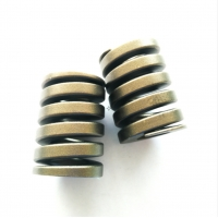 Buy cheap Flat Coiled Anodized Stainless Steel Die Springs from wholesalers