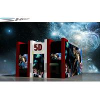 Buy cheap 2 Seats / 4 Seats / 6 Seats 5D Theater System With 100 Movies Power 3.75KW product