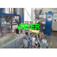 Buy cheap Paralle Twin Screw PET Strap Extrusion Line , 380v 50Hz 100kgs/h from wholesalers