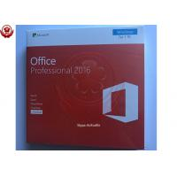 100% Activation Online Microsoft Office 2016 Pro Retail Box 32bit / 64bit