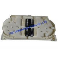 Buy cheap 12 Core Fiber Optic Patch Panel Fusion Tray For Protection Sleeve Storage Fiber Fusion from wholesalers