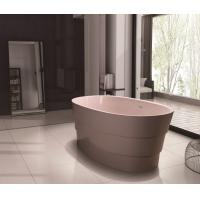 Buy cheap UV Resistant Oval Freestanding Bathtub Low Thermal Conduction from wholesalers