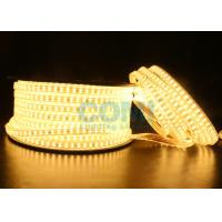 Buy cheap 2835 Dual Row LED mount 168 LED / M High Voltage LED Strip Light 1000LM / Meter  from wholesalers