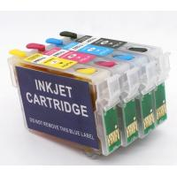 Buy cheap T1261 T1262 T1263 T1264 ink cartridge for Epson Workforce 635 840 refillable cartridge from wholesalers