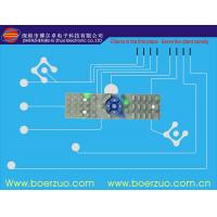 Buy cheap Embossed Buttons Tactile Membrane Switch And Panel With Metal Dome from wholesalers