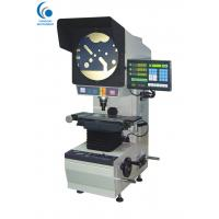 Buy cheap 300mm Screen Mechanical Optical Comparator , Stamping Parts Table Top Optical Comparator from wholesalers
