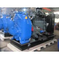 Buy cheap 2/3/4/6/8/10/12 inch self priming trash pump at construction site from wholesalers