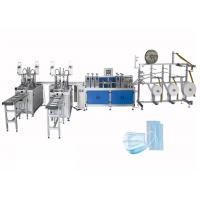 Buy cheap Fast Delivery Automatic Surgical 3ply Non Woven Disposable Earloop Face Mask Making Machine from wholesalers