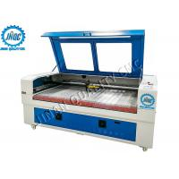 Buy cheap No Burr / Fraying CO2 Laser Cutting Engraving Machine , Automatic Fabric Cutter from wholesalers